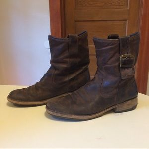 FLY LONDON distressed boots